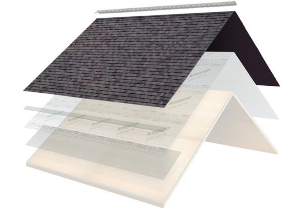 secure choice system layers with shingles highlighted