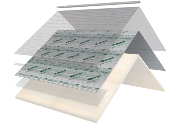 secure choice system layers with underlayment highlighted